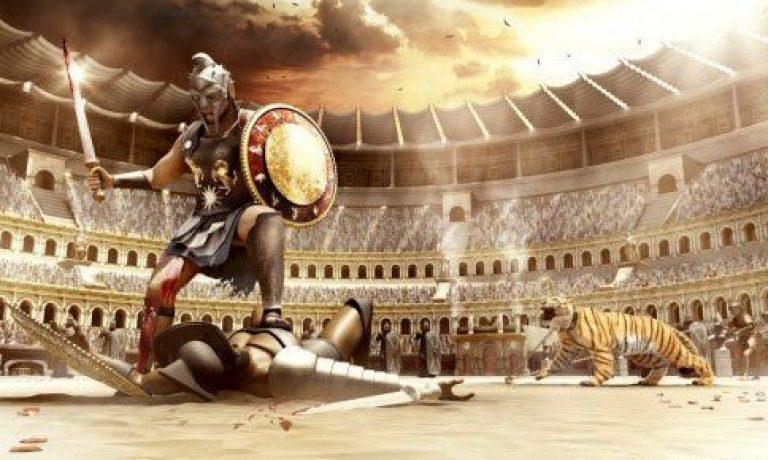 پایان نبرد گلادیاتورها با هم مرگ حتمی یکی از آنها نبود