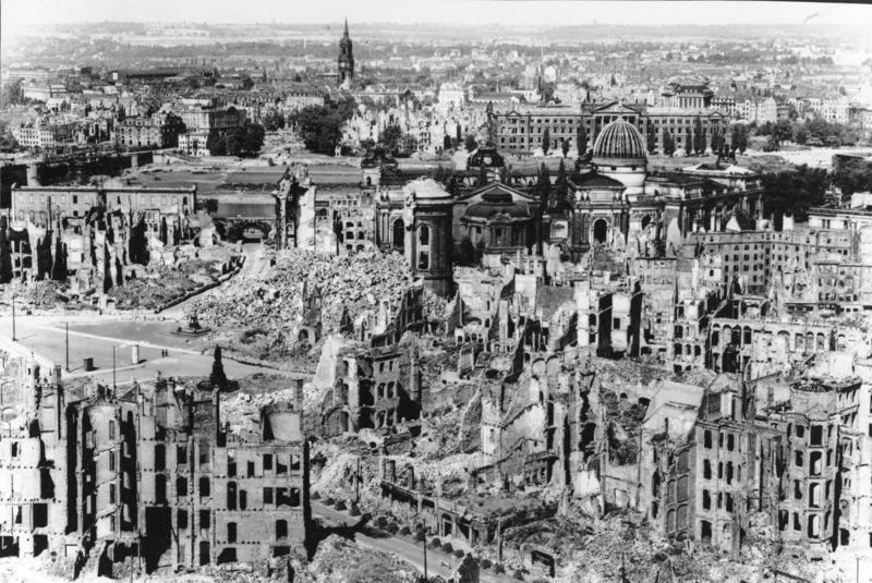 درسدن در جنگ جهانی دوم