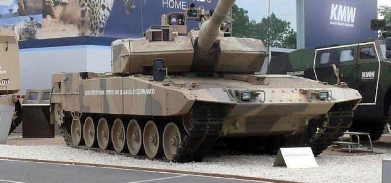 تانک لئوپارد ۲ آلمان