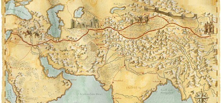 ابتدای جاده ابریشم از سمت چین
