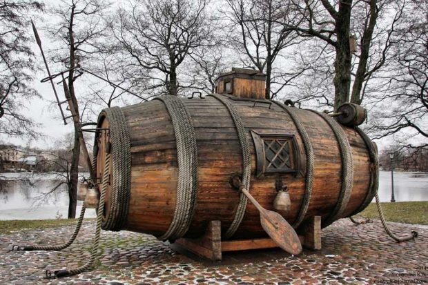 اولین زیردریایی