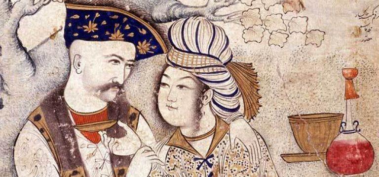 معاشقهی شاه عباس صفوی و کتایون ملکهی گرجستان