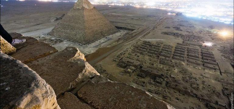 جنس اهرام ثلاثه مصر از چیست؟