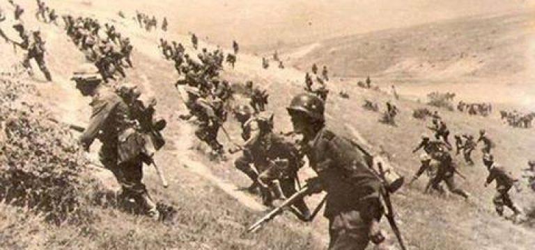 """حمله پیاده نظام ارتش """"المان نازی"""" به شوروی"""