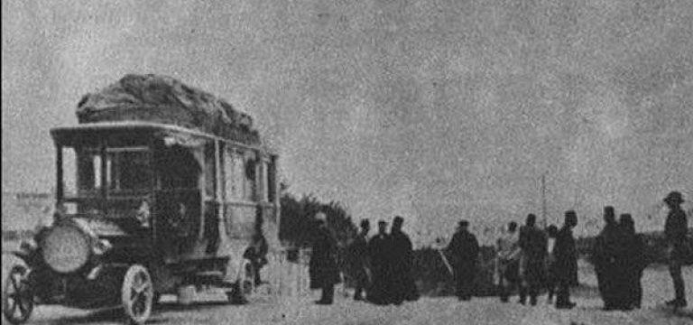 نخستین اتوبوسی که به ایران وارد شد
