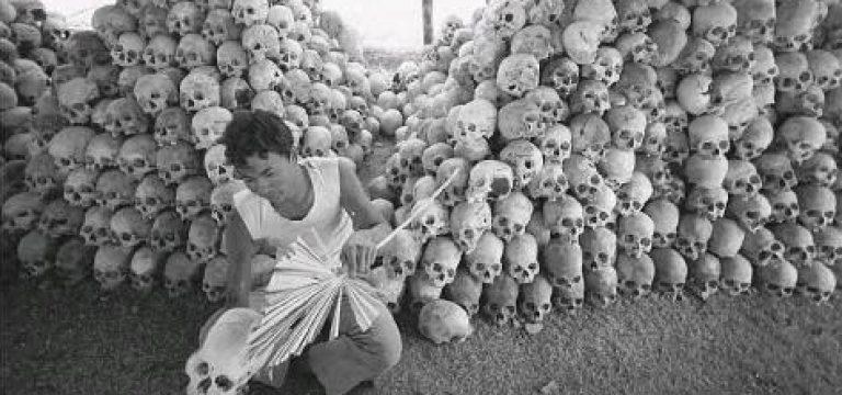 جمجمه قربانیان ایدئولوژی پول پوت در کامبوج