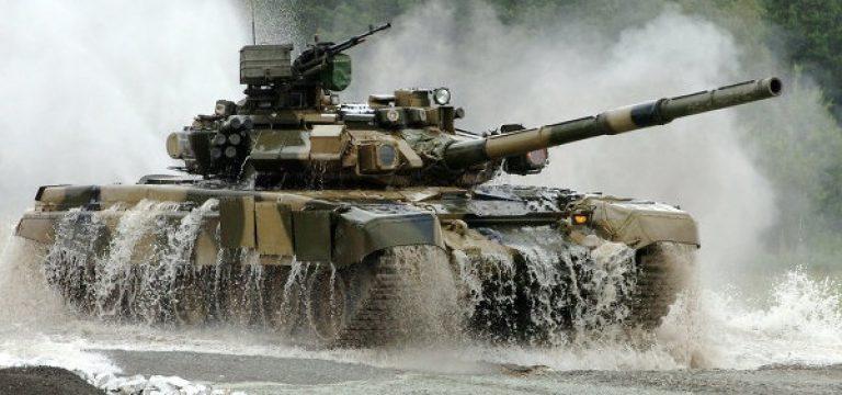 تانک تی-۹۰ روسیه