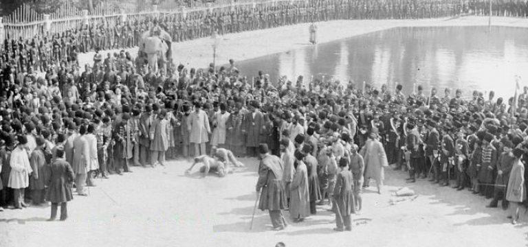 قوی ترین مرد ایران در عصر ناصرالدین شاه