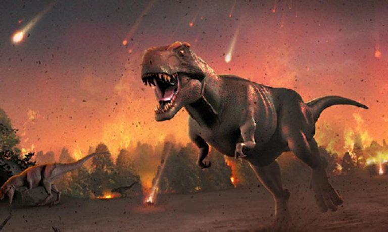 یک سیارک عامل انقراض نسل دایناسورها