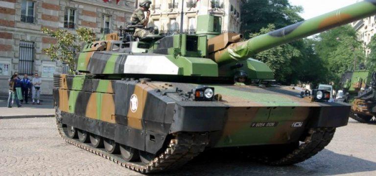 تانک Leclerc  فرانسه