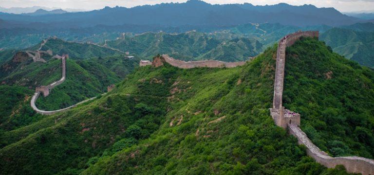دیوار چین چگونه ساخته شد؟