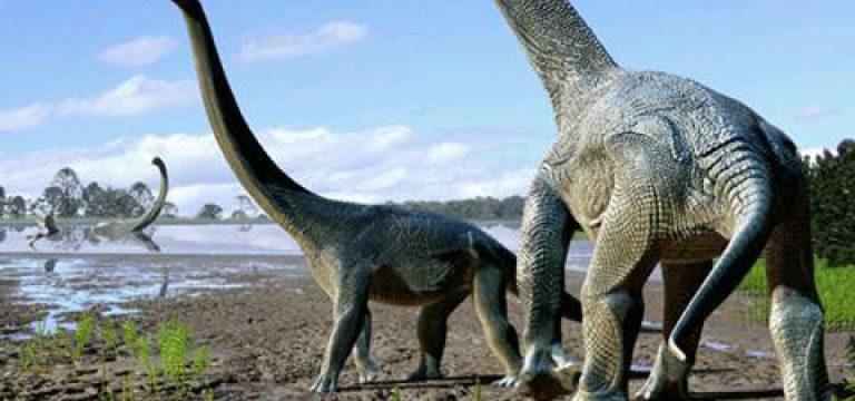 دایناسورهای غولپیکر از قاره ها عبور کردند