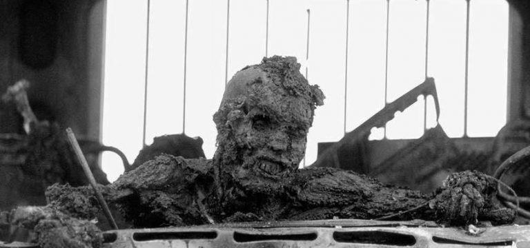 سرباز عراقی زغالشده، سمبل جنگ اول خلیج فارس