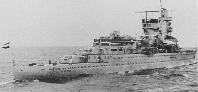 معمای ناپدید شدن کشتیهای جنگی هلندی